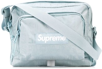 Supreme logo print shoulder bag