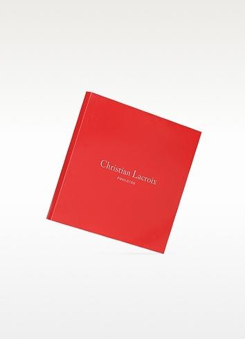Christian Lacroix Bijoux Print Silk Square Scarf