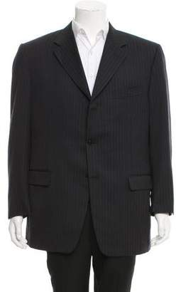 Canali Wool Three-Button Blazer