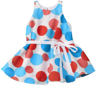 Halabaloo Girls' Dotted Dress