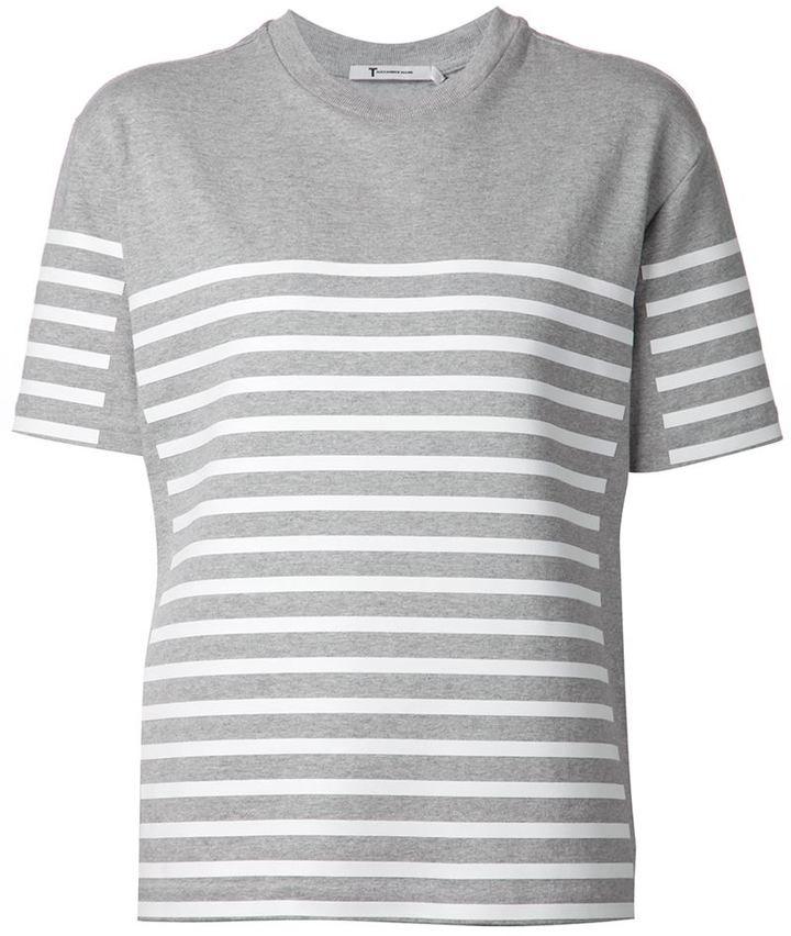 Alexander WangT By Alexander Wang striped T-shirt