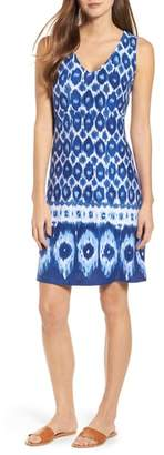 Tommy Bahama Innercoastal Ikat Sleeveless Dress