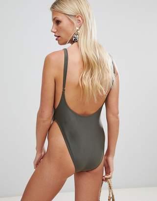 Brave Soul Scoop Back Swimsuit