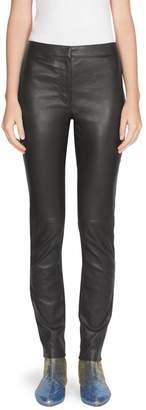 Loewe Solid Leather Leggings