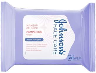 Care Johnson's Face Makeup Be Gone Pampering Wipes 25s