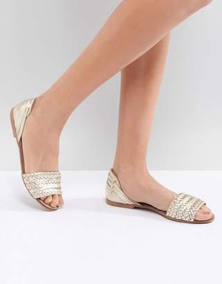Oasis Braid Front Sandals