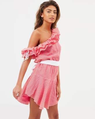 MLM Label Honest Ruffle Dress