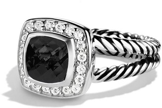 David Yurman 'Albion' Petite Ring with Semiprecious Stone & Diamonds