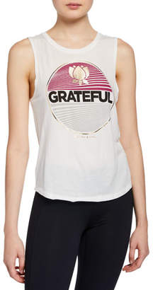 Spiritual Gangster Grateful Muscle Graphic Tank