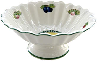 Villeroy & Boch French Garden Fleurence Footed Fruit Bowl 12 in