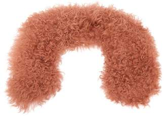 Yves Salomon Shearling Collar - Womens - Light Pink