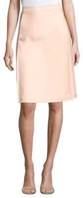 Piazza Sempione Stretch Cotton Seamed Skirt