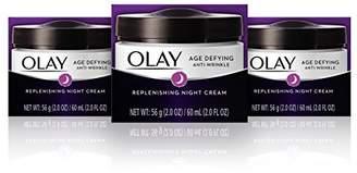 Olay Age Defying Anti-Wrinkle Replenishing Night Face Cream