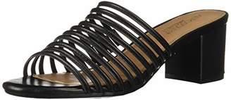 Aerosoles Women's Mid Afternoon Heeled Sandal - Opened Toed Dress Heel with Memory Foam Footbed (M - )