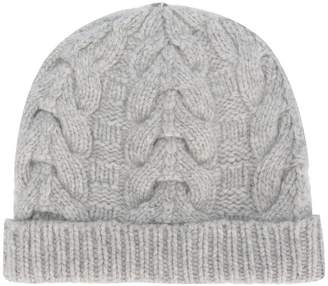 N.Peal cable-knit beanie