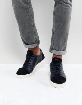 Selected Premium Sneakers With Toe Cap