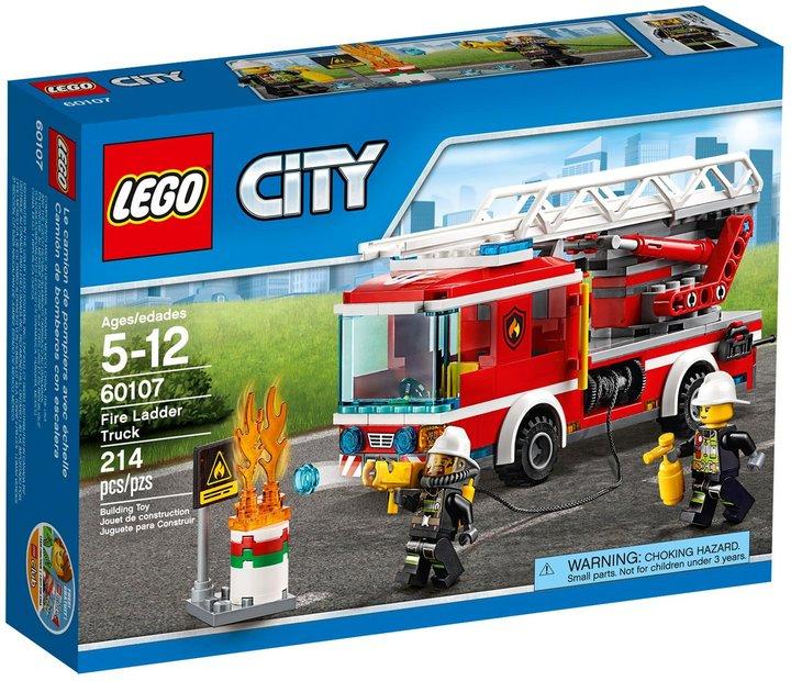 LEGO City Fire Ladder Truck- 60107