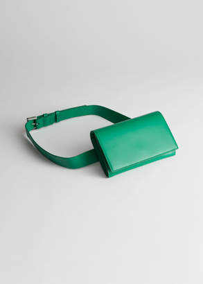 And other stories Leather Beltbag