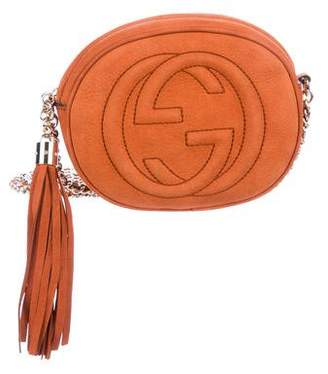 Gucci Mini Soho Chain Crossbody Bag