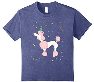 Cute Poodle TShirt Birthday Standard Dog Gifts Party
