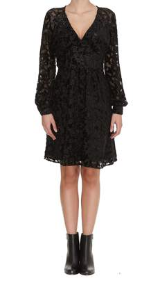 Michael Kors Raglan Sleeve Short Dress