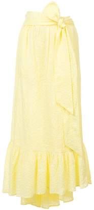 Lisa Marie Fernandez Nicole Eyelet Midi Skirt