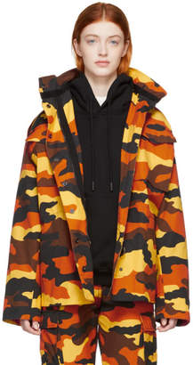 Off-White Off White Multicolor Camo M-65 Jacket