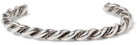 Foundwell Braided Sterling Silver Cuff