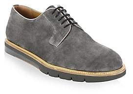 Saks Fifth Avenue Men's COLLECTION BY MAGNANNI Creeper Suede Lace-Up Derbys