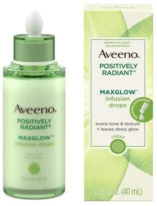 Aveeno Positively Radiant MaxGlow Infusion Drops Moisturizing Facial Serum