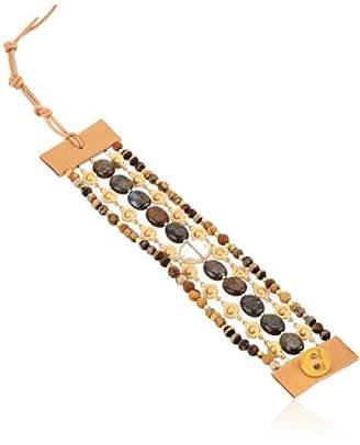 Chan Luu Multi-Strand Button Closure Bracelet