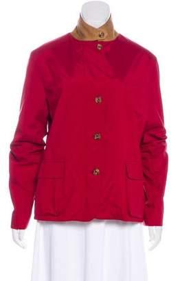 Loro Piana Button-Up Long Sleeve Jacket