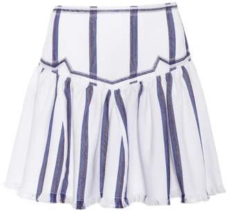 Etoile Isabel Marant Isabel Marant, étoile Delia striped cotton miniskirt