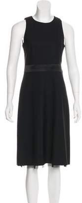 Theory Sleeveless Midi Dress
