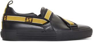 Fendi Black Forever Strap Sneakers
