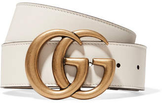 Gucci Leather Belt - Ivory