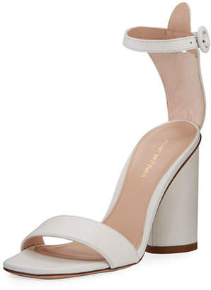Stuart Weitzman Kimly Chic City Leather Sandals