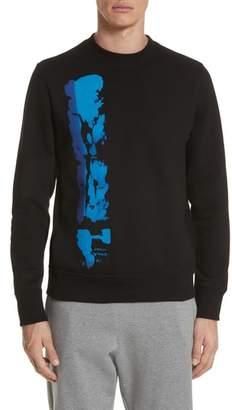 Paul Smith Abstract Brush Graphic Sweatshirt