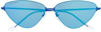 Balenciaga Eyewear triangular shaped sunglasses