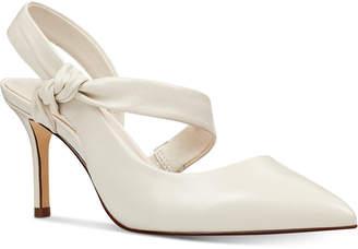 38e8857669e2 Nine West Mamelu Bow Slingback Pumps Women Shoes