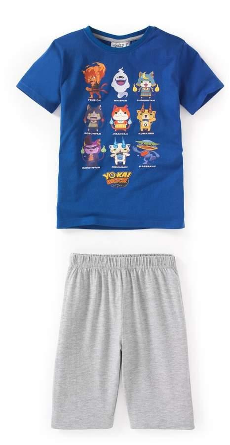 YO KAI WATCH Printed Short Pyjamas, 3-12 Years