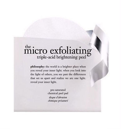 Philosophy micro exfoliating triple acid brightening peel