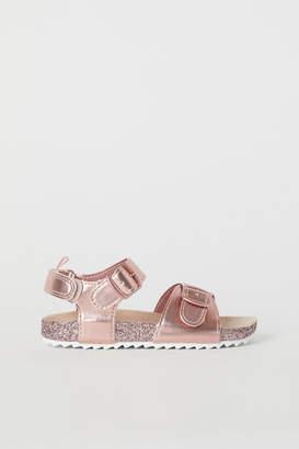 H&M Glittery Sandals - Pink
