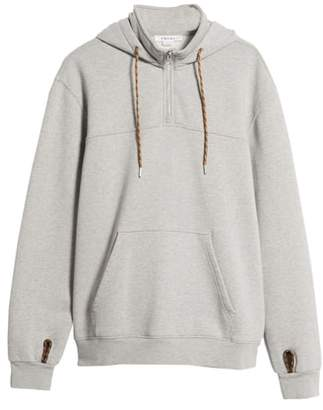 Frame Classic Fit Quarter Zip Hoodie