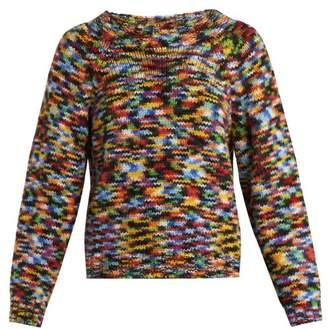 Missoni Round Neck Alpaca Blend Sweater - Womens - Multi