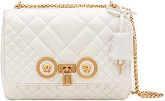 f90d21a3c0 Versace First Line Icon Medium Quilted Leather Shoulder Bag