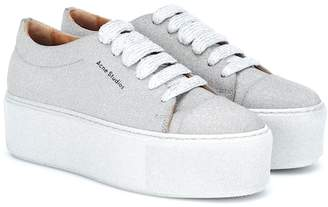4ae5849629e9 Acne Studios Drihanna platform leather sneakers