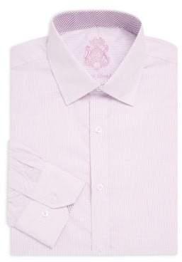 English Laundry Micro Check Cotton Dress Shirt