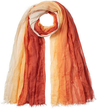 Faliero Sarti Colorblocked Silk-Blend Scarf