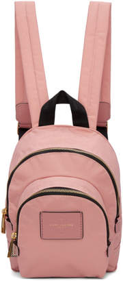 Marc Jacobs Pink Mini Double Backpack